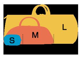 バッグサイズ表